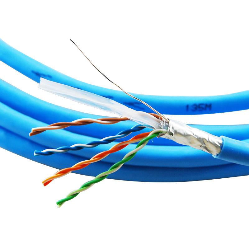 超六类屏蔽网络线/0.5-4P NSGDT6--10G-S